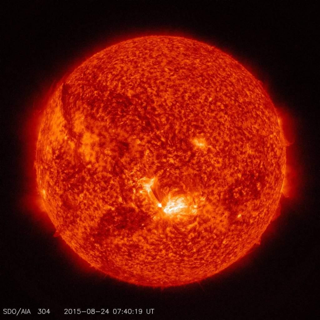 Sun clears alien agenda