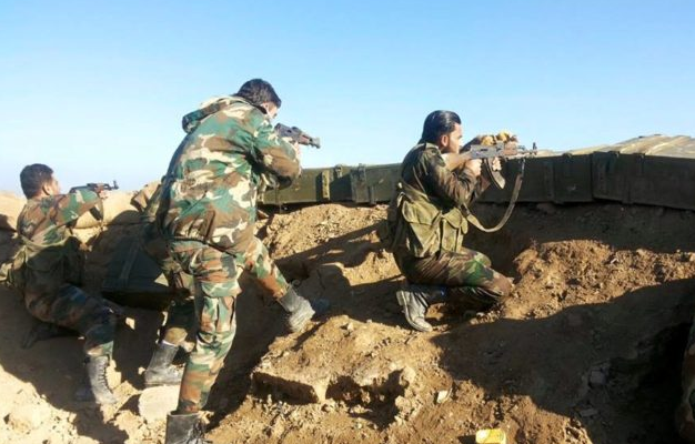 Syrian Arab Army Successfully Advances and Reaches the Iraqi Border