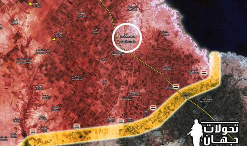 Syria's Tiger Forces takes Maskanah – ISIS seems to have disappeared