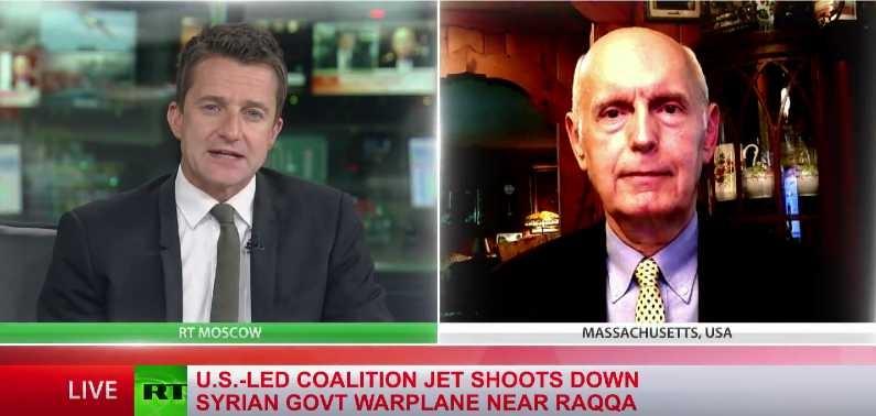 Jim W. Dean talks to RT International