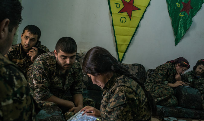 Kurds May Face Turkish Army in SyriaOne-to-One