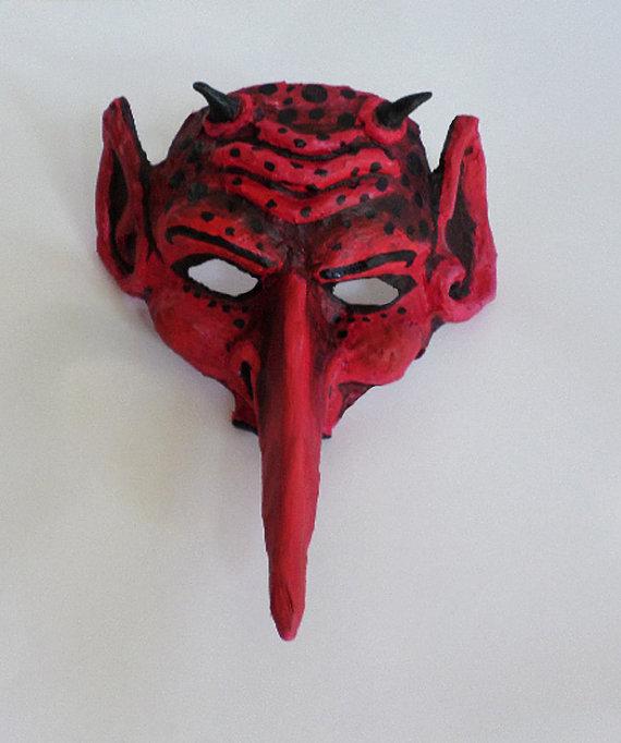 Red Alien/Devil Mask