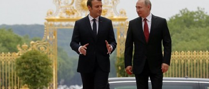 French President Emmanuel Macron: The West must stand with Russia in Syria