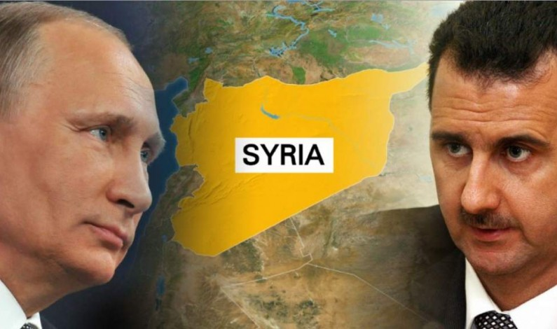 Putin: The fate of Assad belongs to the Syrian people, not to NWO agents and warmongers
