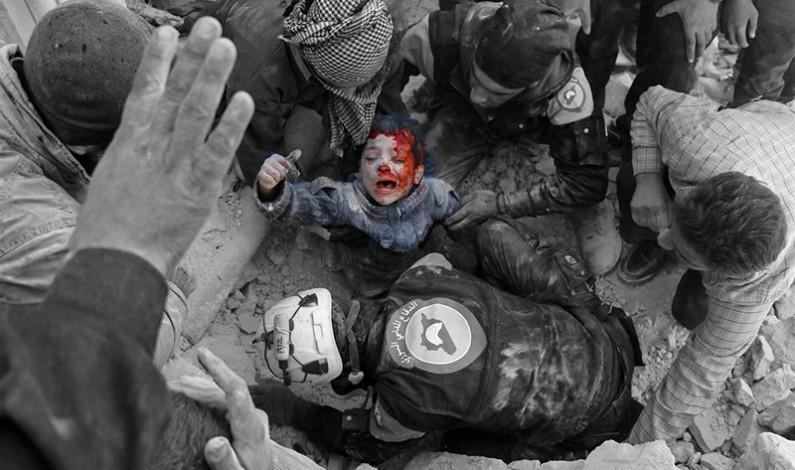 War Poem:  Death of a Toddler