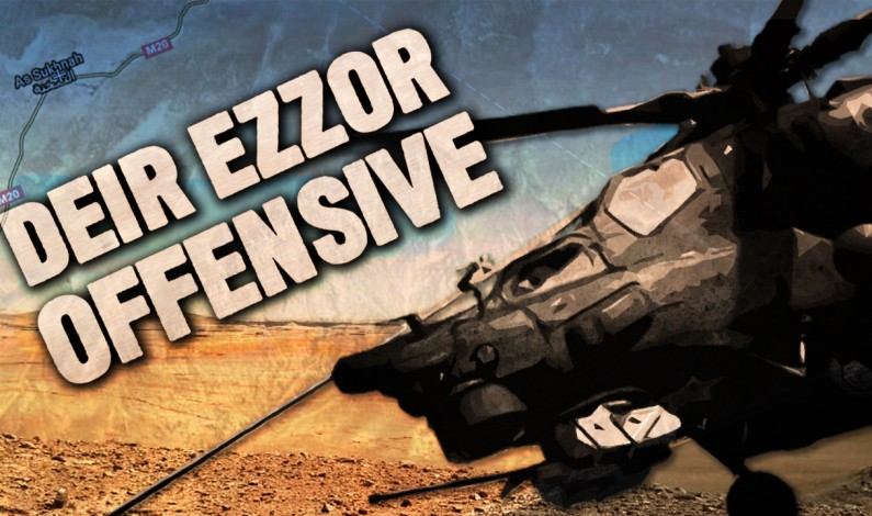 Syrian War Report – July 31, 2017: Tiger Forces Enter Deir Ezzor Province