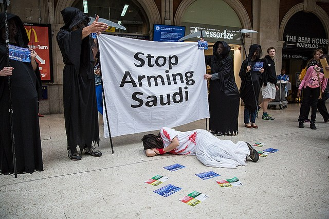 Carry on arming the Saudis (and never mind the slaughter in Yemen)