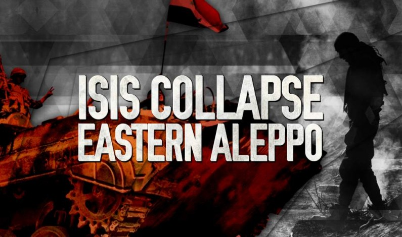 Syrian War Report – July 3, 2017: ISIS Collapsed In Eastern Aleppo