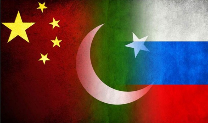 Russian-led China-Pakistan Alliance, facing the US-led Terrorism