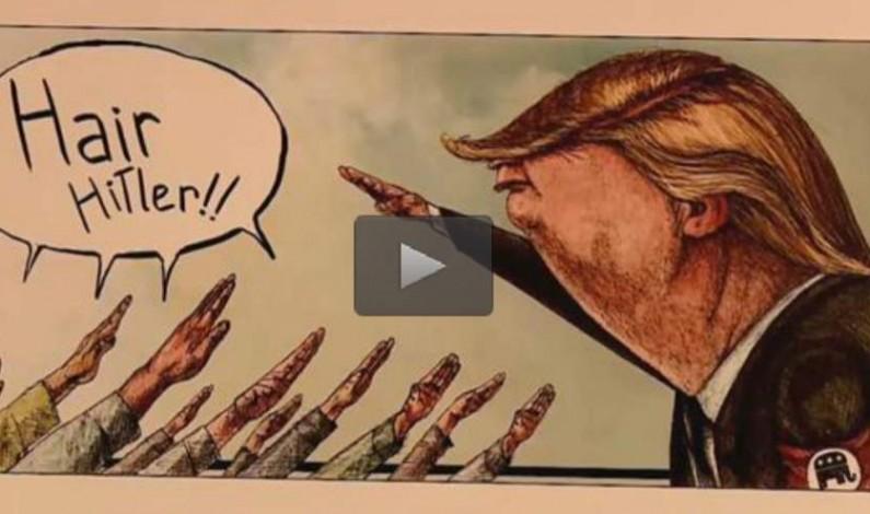 Tehran hosts cartoon exhibition mocking Donald Trump