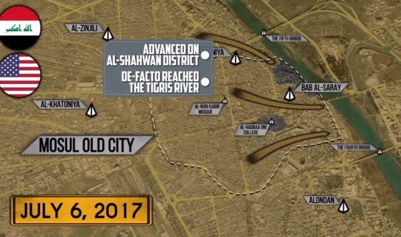 Battle For Mosul – July 7, 2017: Iraqi Forces Purging Remaining ISIS Terrorists In Old Mosul