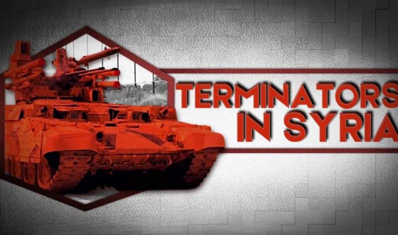 Russian Terminators Arrive In Syria