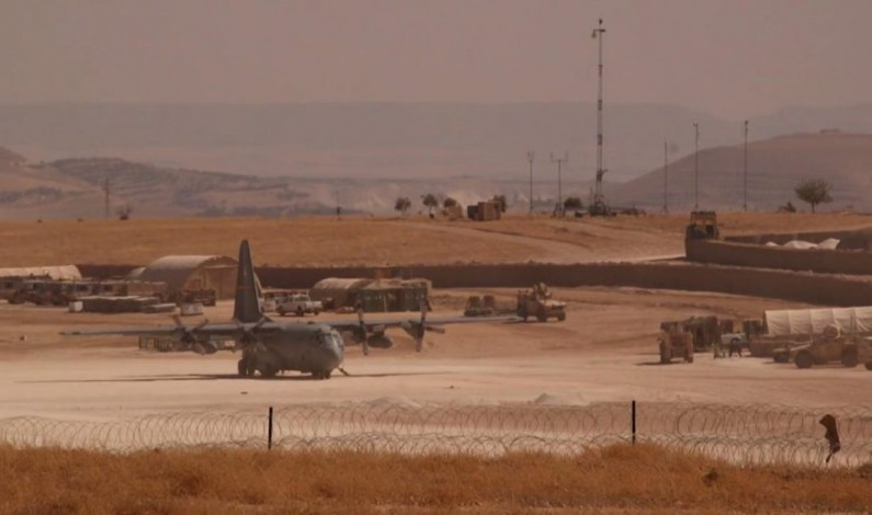 Massive US Airbase established in northern Syria