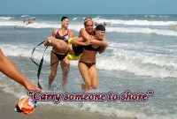 Just One Thing to do this week: Carry Someone To Shore