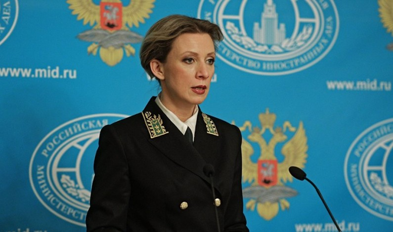 Maria Zakharova strikes back at Russophobia