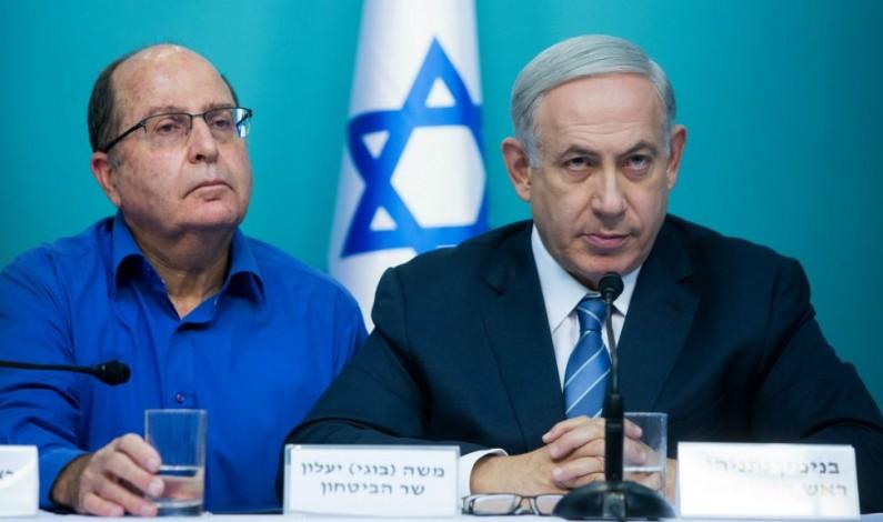 "Former Israeli defense minister Moshe Ya'alon: Benjamin Netanyahu is fostering ""fascistization"""