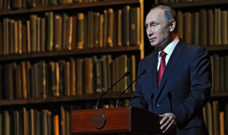 Vladimir Putin: The Soviet Union and KGB ideology have outlived their usefulness