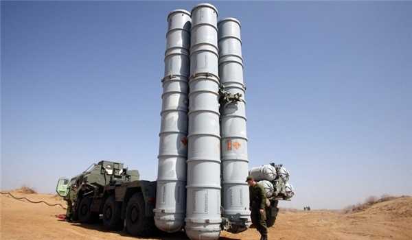 Russian S300, S400 Air-Defense Systems Ready to Hit Enemy Flying Objects in Syria's Airspace