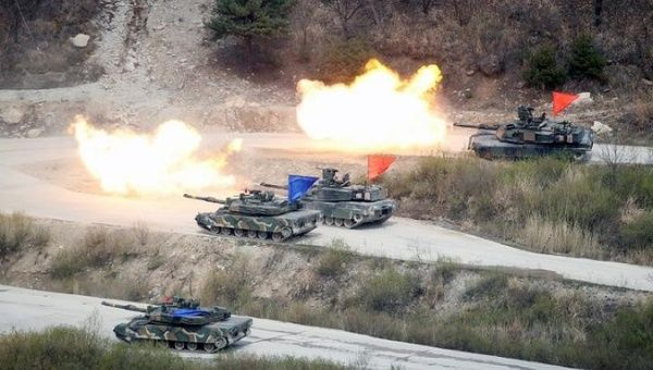 US, South Korea Gear Up for War Games, Threatening Pyongyang