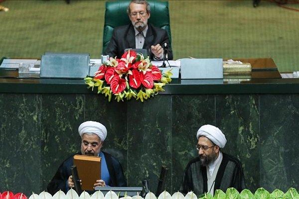 Hassan Rouhani sworn in as President of Iran