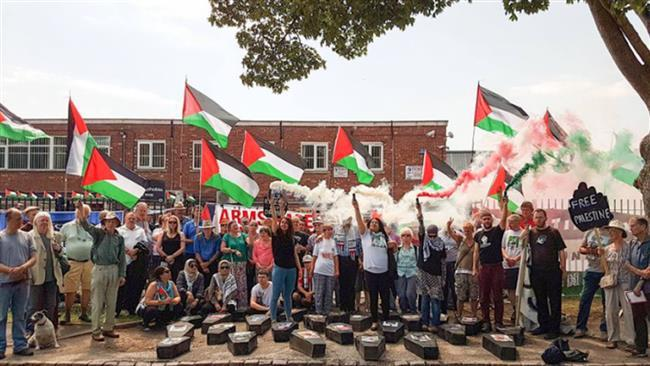UK to jail pro-Palestinian protesters