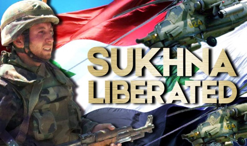 Syrian War Report – August 7, 2017: Sukhna Liberated, Army Continues Advance