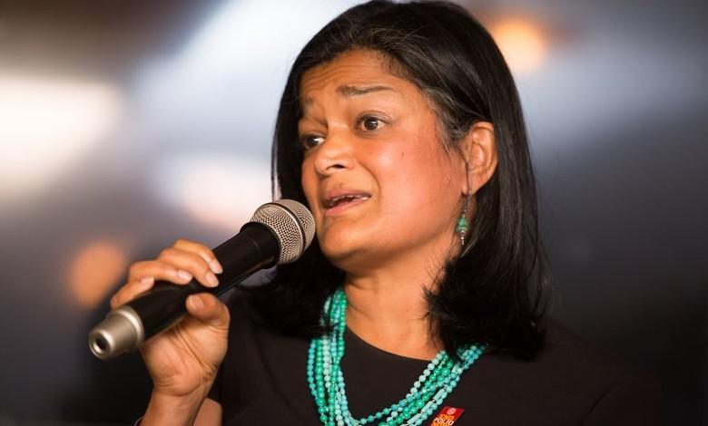 Congresswoman Pramila Jayapal unveils resolution to censure Donald Trump