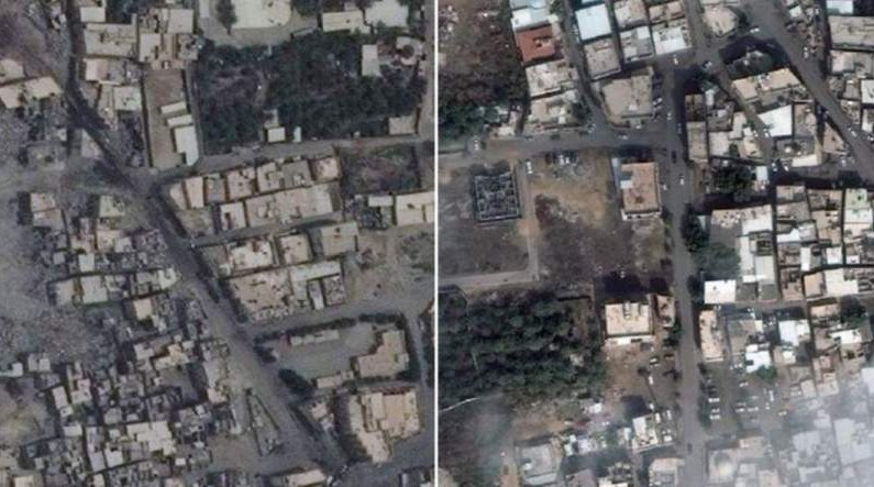 Satellite imagery shows extent of Saudi atrocities in Shiite town of Awamiyah