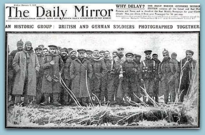 Christmas Truce of 1914 WW1