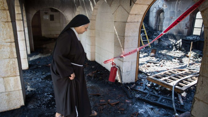 'No time for shallow diplomacy Christians'  in the religious war on churches in the Holy Land