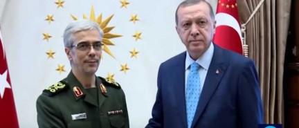 Top Iranian general meets Turkish president