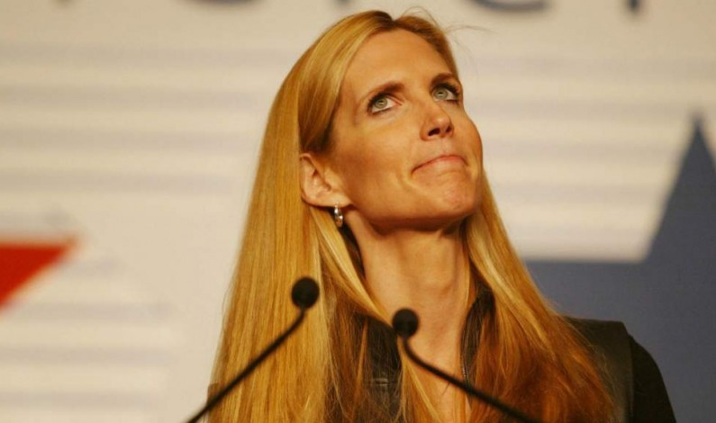 """Ann Coulter: """"Goldman Sachs is running the country!"""""""