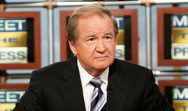 Patrick J. Buchanan has morally and intellectually shot himself in the head