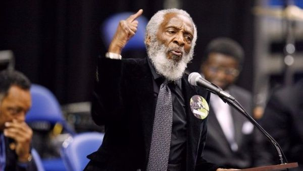 Dick Gregory—US Comedian, Activist, Author—Dies at 84