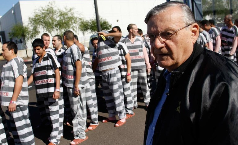 10 Disgusting Things Joe Arpaio Did as Sheriff of Maricopa County, Ariz.