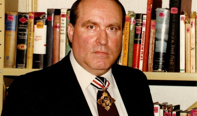 Ernst Zundel, the man who destroyed the Holocaust industry, died