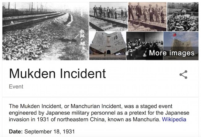 Russian-Chinese Mukden Day exercise preempts Trump False Flag