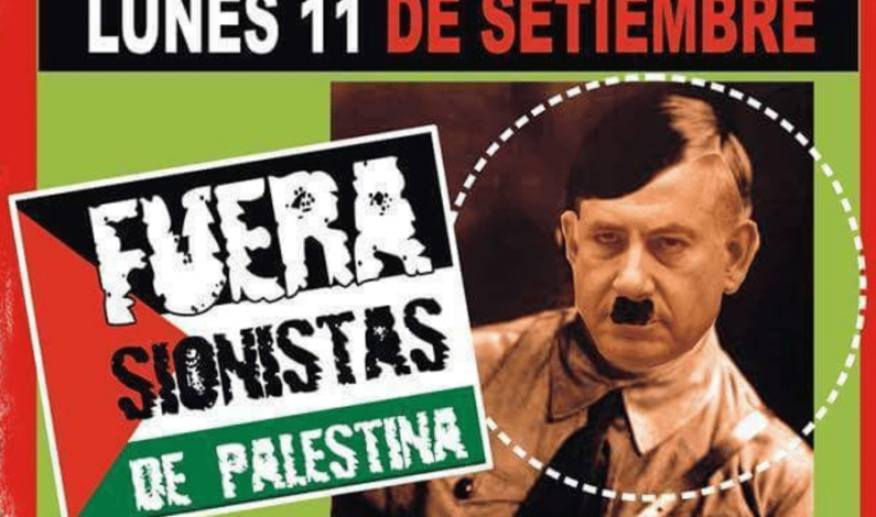 Israeli Leader Netanyahu Depicted as Hitler Ahead of Upcoming Trip to Argentina