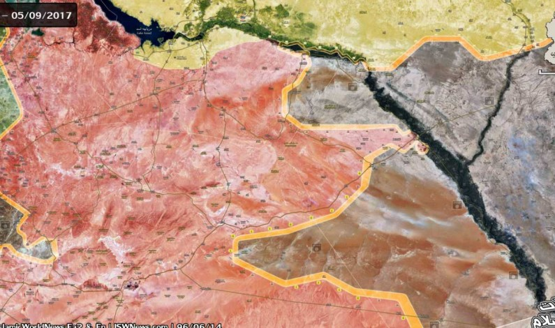 Russian cruise missile strike wiped out ISIS Deir-Ezzor fortification
