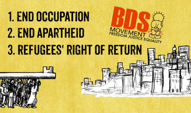 An Evil Agenda, Supporters of Palestinian Apartheid and A Fresh Look at The BDS Movement