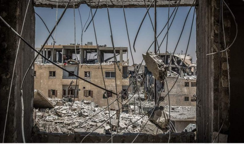 Raqqa: A hellhole created by the regime-changers of the West
