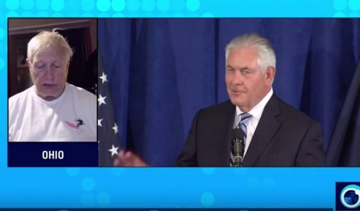 Duff and Press TV:  Tillerson Exposes Trump's Pro-Terrorist Policies