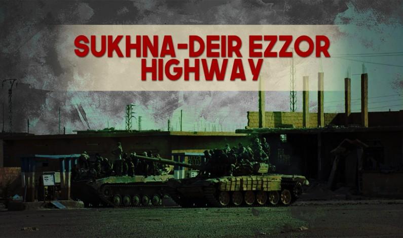 Syrian War Report – September 7, 2017: Syrian Army Advances Along Sukhna-Deir Ezzor Highway