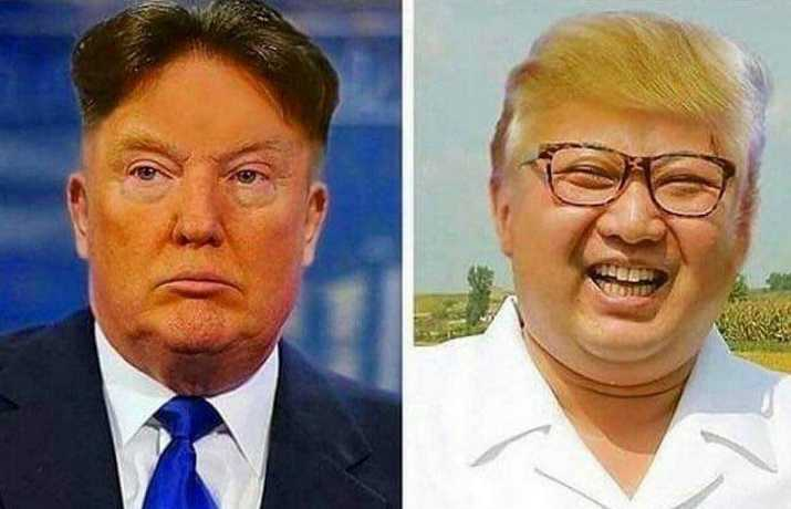 Kim Saves Trump's Butt!