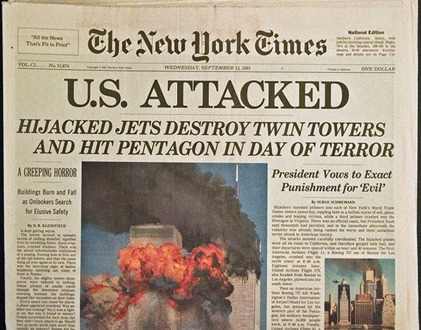 """NY Times op-ed: Mainstream 9/11 narrative """"totally false, literally from the first minutes"""""""