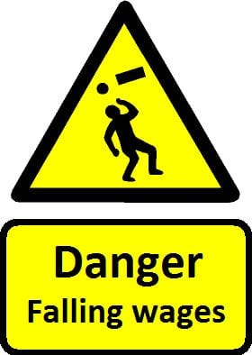 falling wages danger sign