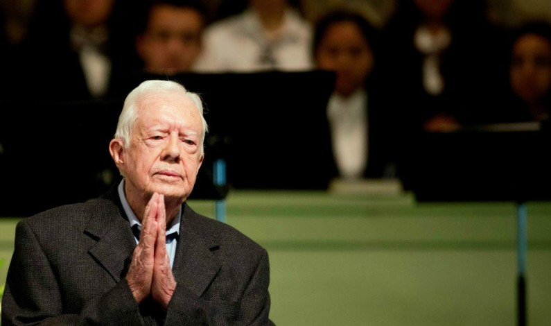 """Jimmy Carter: US is more an """"oligarchy than a democracy"""""""