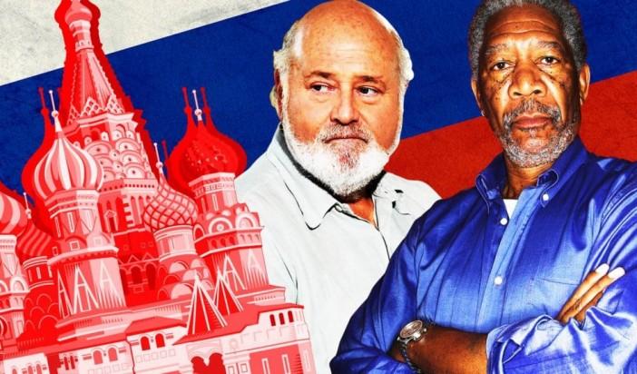 The Neocon War Machine Seduces Morgan Freeman to Attack Russia