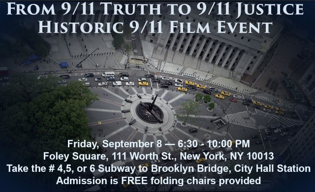 Demand for real 9/11 investigation to be filed in federal court (US Atty. Southern District of NY)