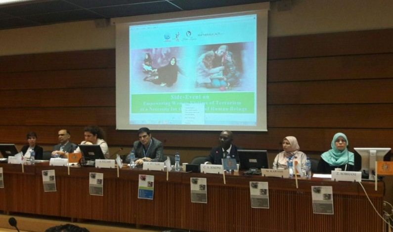 Empowering women necessary tool for global peace